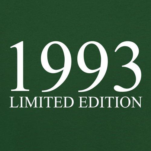 1993 Limierte Auflage / Limited Edition - 24. Geburtstag - Herren T-Shirt - Flaschengrün - XXL
