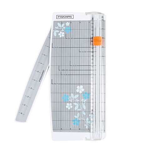 Fiskars scrapbooking paper trimmer with swing-out arm, 12 inches (Fiskars Replacement Blade Kit compare prices)