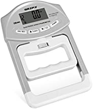 GRIPX Digital Hand Dynamometer Grip Strength Measurement Meter Auto Capturing Electronic Hand Grip Power 198Lb