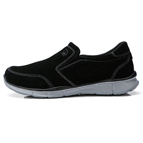 CAMEL Running da Basse Fitness Leggere Comodo Sneakers Scarpe Outdoor Uomo CROWN Pelle Nero qpwIxrBpX