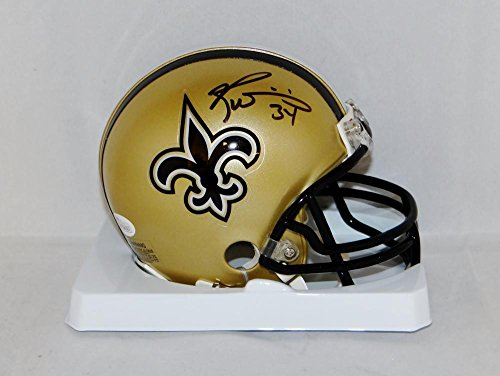Ricky Williams Autographed New Orleans Saints Mini Helmet- JSA Witnessed Auth