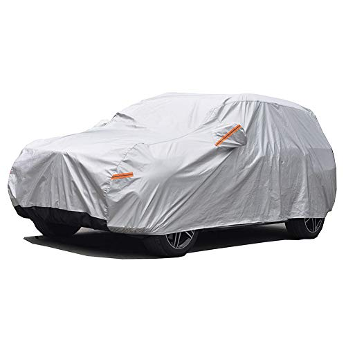 GUNHYI Winter Car Covers Four layers Waterproof All Weather,Sun Rain Dust Snow Protection For...