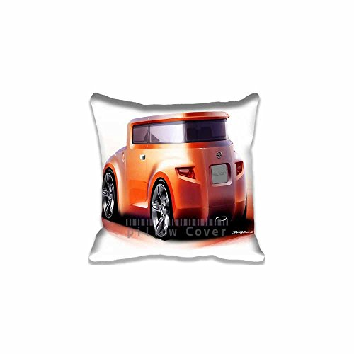 Sofa Throw Case Cushion Cover For Sofa Cars Sketch Pattern Scion Hako Concept Sketch 1 Pillow Case (Bedskirt Pattern)