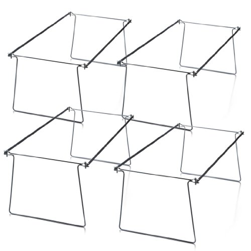 OfficemateOIC Hanging File Frames, Letter Size, Steel, Pack of Four (91995)