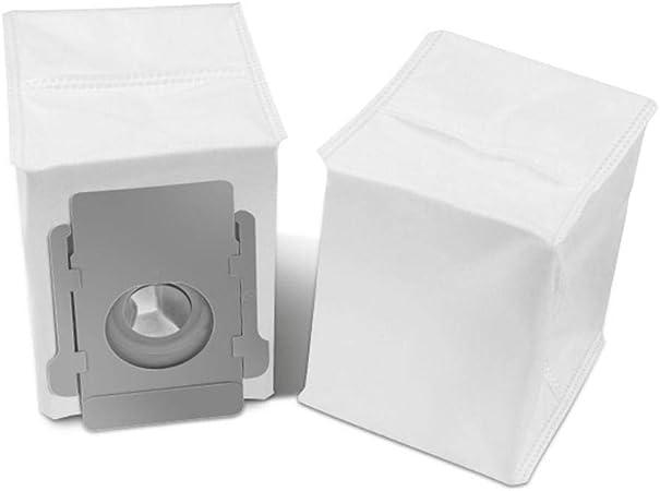 Piezas de repuesto Robot de base limpia Bolsas de eliminación de suciedad automática para iRobot Roomba S9 i7 i7+/i7 Plus E5 E6 E7 Aspiradora: Amazon.es: Hogar