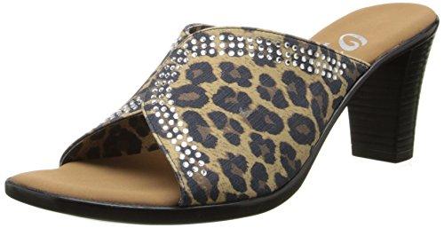Leopardo Marrone Delle Donne Del Vestito Del Paty Delle Donne Di Onex