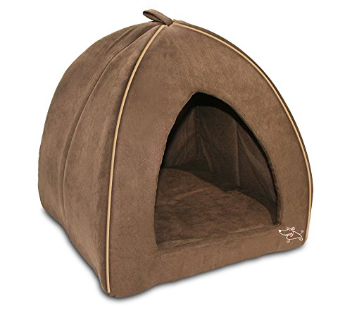 Soft Dog Bed (Brown) - 2