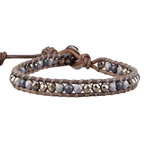 KELITCH Pyrite Bracelet Handmade Jewelry