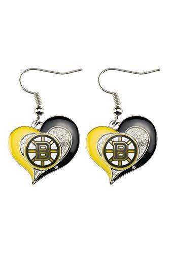 NHL Boston Bruins Swirl Heart ()