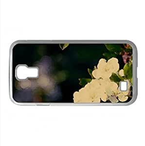 Close-Up Of A Blossom Tree Branch Watercolor style Cover Samsung Galaxy S4 I9500 Case (Spring Watercolor style Cover Samsung Galaxy S4 I9500 Case)