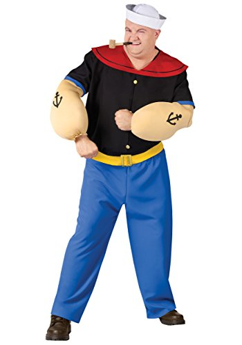 Popeye Plus Size Adult Costume (Olive Oyl Fancy Dress)