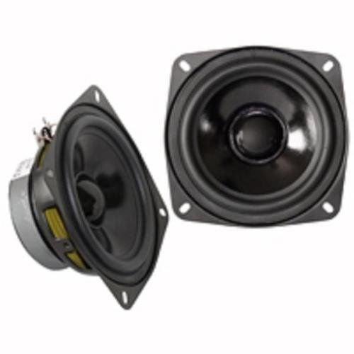 Paar Lautsprecher HP Woofer Polypropylen 50 Watts Max 8 Ohm 130 mm 13 cm NEDIS