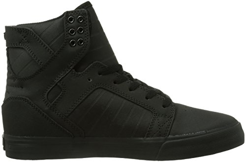 Supra Skytop, Sneaker a Collo Alto Unisex-Adulto Nero (Schwarz (Black - Black Blk))