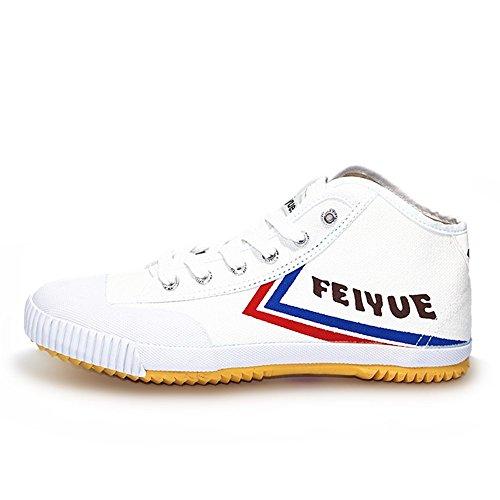 Dafu feiyue Espadrillas Basse Uomo Bianco White Shoes