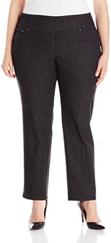 Ruby Rd. Women's Plus-Size Pull-On Extra Stretch Denim Jean