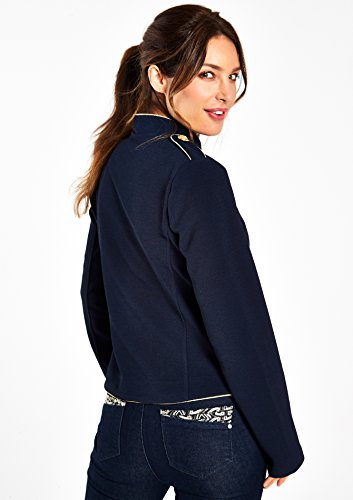 LOLALIZA - Veste style officier - Navy Obscur - Tailles 34-44