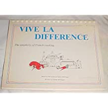 Vive La Difference: The Simplicity of French Cooking Plastic Comb Binding 1977