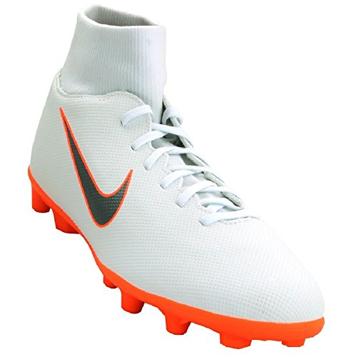 6 Mtlc Total Total de MG NIKE Orange Black Mixte Football Blanc Cool 107 Orange Adulte Superfly White Club Grey Chaussures FG 4xP5Fq