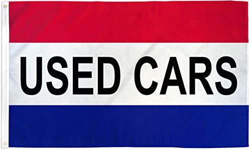 USED CARS Flag Car Dealer Banner Advertising ()