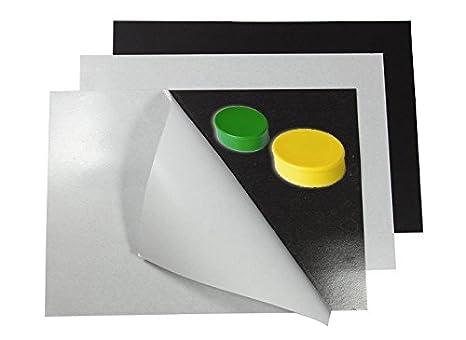 Fogli metallici neutro con adesivo formato A1-A4 A grandezzas:A1 594 x 841mm 0,4mm