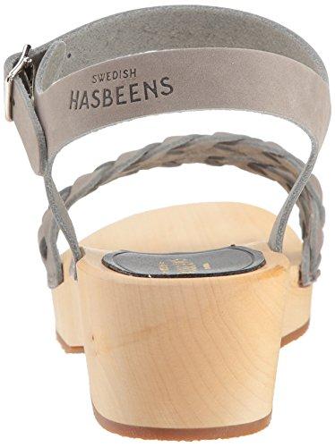 Debutant Sandal Tanja Women's Heeled Hasbeens Grey Swedish Nubuck FExtXOqaRw