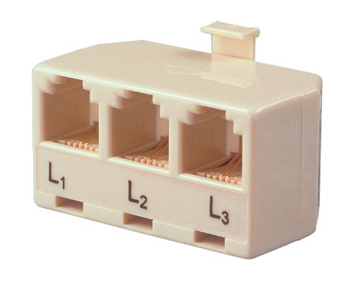 Allen Tel AT173A Three Single-Line Phones to a Single Modular Outlet Triplex Modular - Outlet Allen