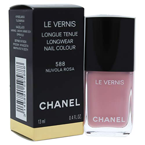 Chanel Le Vernis Longwear Nail Colour 588 Nuvola Rosa for Women, 0.4 Ounce
