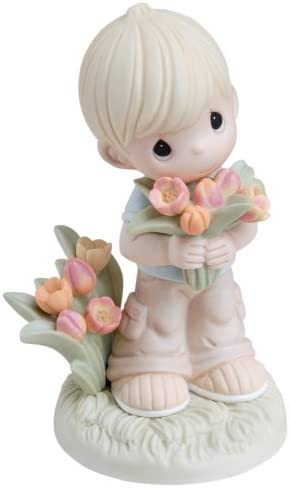 Precious Moments You Color My World With Love boy Figurine