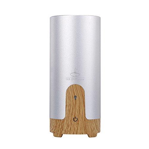 Air Purifier Silver Color (Meijunter Car Aromatherapy Diffuser, Portable USB Fragrance Mist Humidifier Fresh Air Purifier Aroma Mist Generator Color Silver)