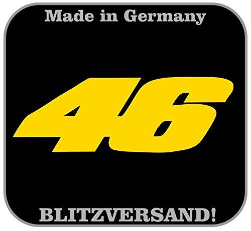 Valentino Rossi 46 Logo Aufkleber Autoaufkleber Wandtattoo