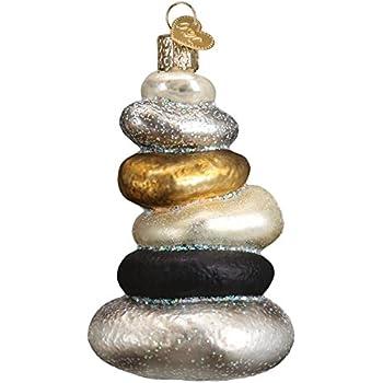 Amazoncom Yoga Tree Namaste 2017 Porcelain Gift Ornament Faith