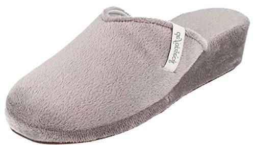 DE FONSECA ciabatte pantofole invernali da donna mod. PALERMO W08 grigio