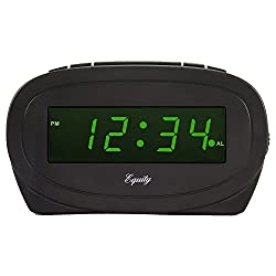 Equity by La Crosse 30226 Digital Green LED Electric Alarm Clock