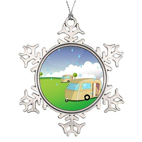MurielJerome Holiday Ideas for Decorating Christmas Trees Home Western Snowflake Ornaments Tree Decor
