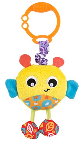 Playgro 0186972 Wiggling Bertie Bee STEM Toy, Multi