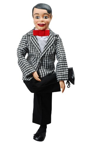 Danny O'Day Dummy Ventriloquist Doll, Voice of Nestlé Chocolate. One of the Most Famous Celebrity Dummies in 50's & 60's. Comes w/BONUS E-Book - How to Instructions to Learn Ventriloquism.
