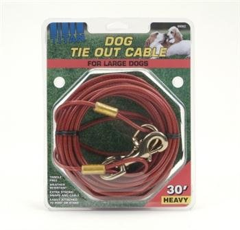 Coastal Pet Titan Giant Tie Out Cable for Very Large & Strong Dogs (30 ft.) by TDP