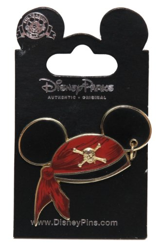 Disney Pins - Pirates of the Caribbean - Mickey Mouse Pirate Ear Hat - Pin ()