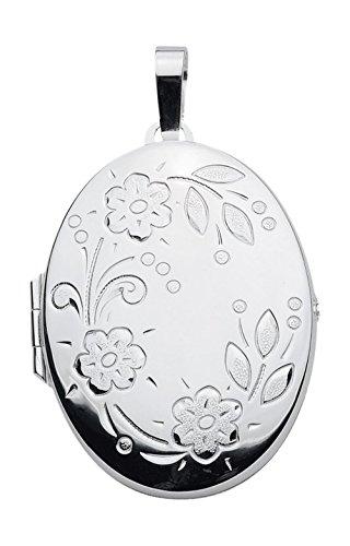 Médaillon Pendentif, collier pendentif en argent sterling 925