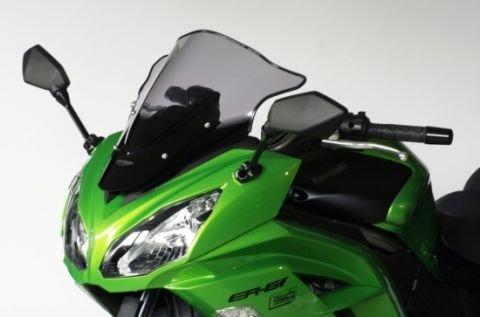 MRA Racingscheibe for Kawasaki ER - 6f Verkleidungsscheibe 2012 Onwards Black