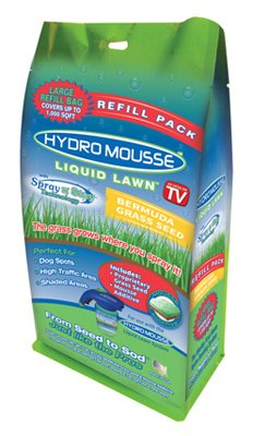 Hydro Mousse 17500-6 Liquid Lawn Bermuda Grass Seed, Spray n