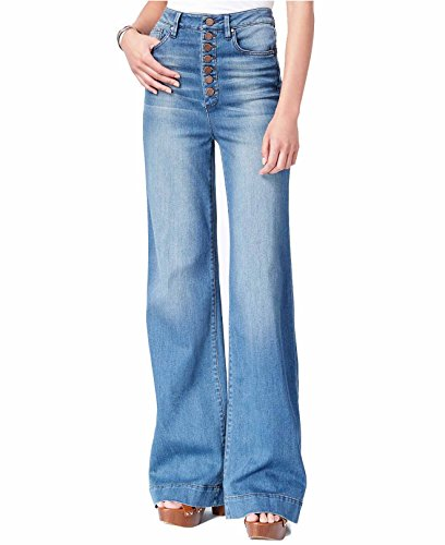 Rachel Rachel Roy Women's Button-Fly Flared Jeans (Dirty Dancing Wash, 26) - Dirty Wash Jeans