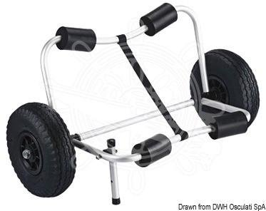 Carro Plegable para kayak Trolley Osculati: Amazon.es: Deportes y aire libre