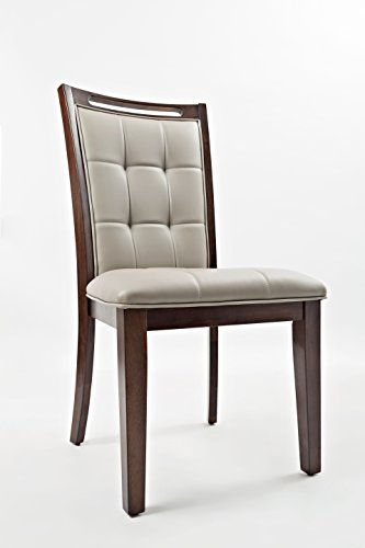 """Jofran: 1672-385KD, Manchester, Dining Side Chair, 21""""W X 23""""D X 41""""H, Medium Brown Finish, (Set of 2)"""