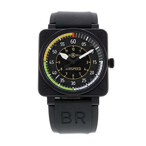 Bell & Ross Aviation Flight Instruments Mens Watch BR0192-AIRSPEED