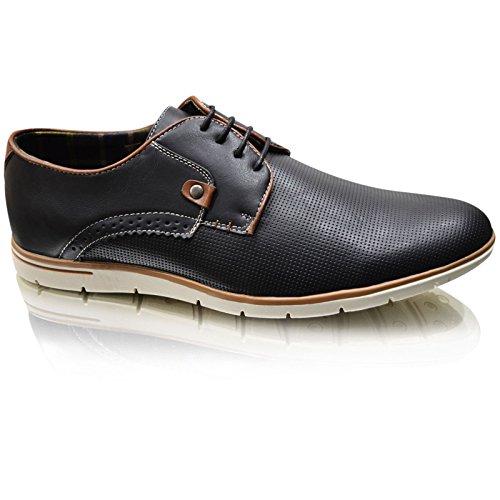 Xelay - Zapatillas hombre Negro