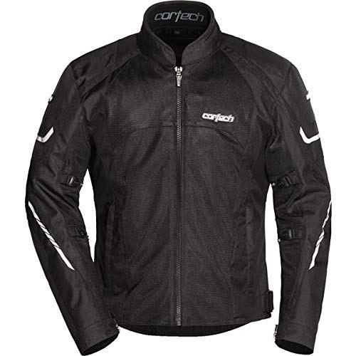 (Cortech Men's GX-Sport Air 5.0 Jacket Black Tall)