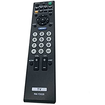 sony tv remote rm yd005. new replaced rm-yd028 remote control for sony bravia kdl-46ve5 kdl-46vl150 tv remote rm yd005