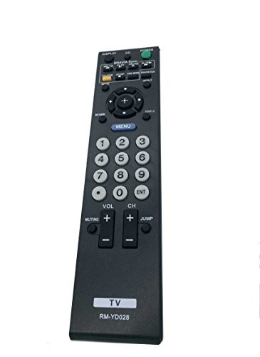 New Replaced RM-YD028 REMOTE CONTROL for Sony Bravia KDL-46VE5 KDL-46VL150 KDL-52S5100 KDL32L5000 KDL46S5100 KDL32XBR9 KDL52V5100 KDL46V5100 KDL52S5100 KDL32S5100 KDL40V5100 KDL26L5000 -  USA REMOTE-CENTER