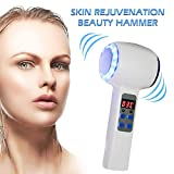 Eight Horses-S Beauty Device/Hot and Cold Double Heads Hammer Vibration Massage Instrument/Facial SPA Anti-Wrinkle Skin Tighten Lifting and Shrinking Pores
